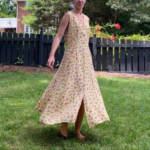 Vintage Christy Dawn-style Prairie Floral Dress